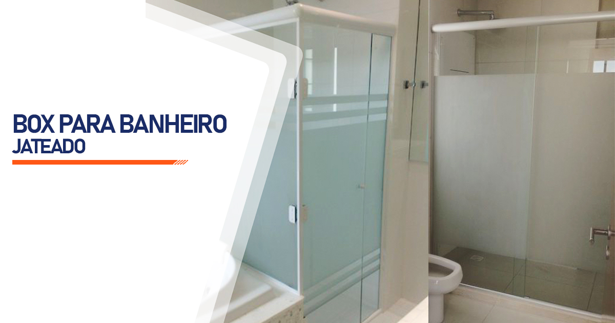 Box Jateado para Banheiro São Paulo