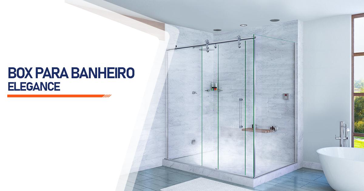 Box para Banheiro Elegance  São Paulo