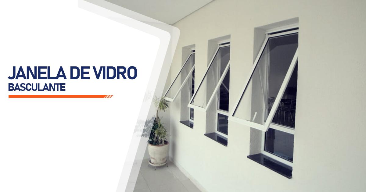 Janela De Vidro Basculante São Paulo