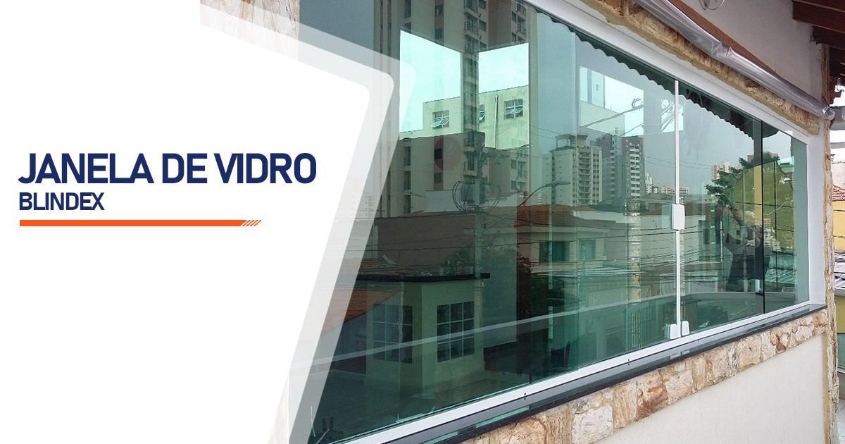 Janela De Vidro Blindex São Paulo