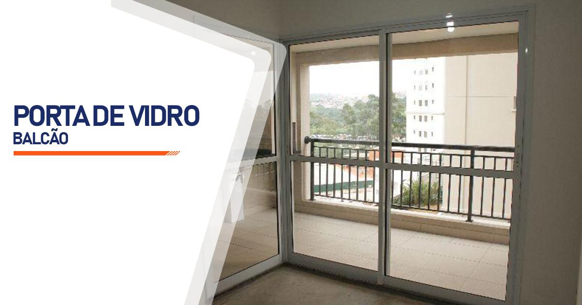Porta Balcão De Vidro São Paulo