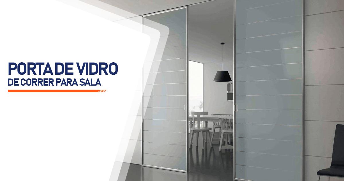 Porta De Vidro De Correr Para Sala São Paulo
