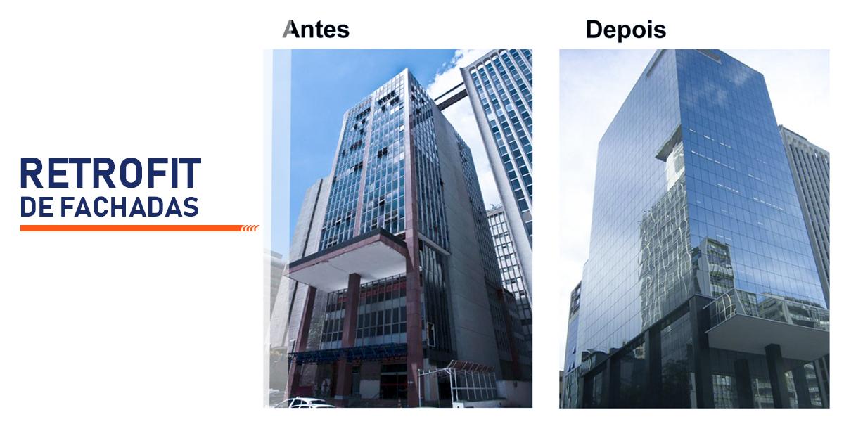 Retrofit de Fachadas São Paulo