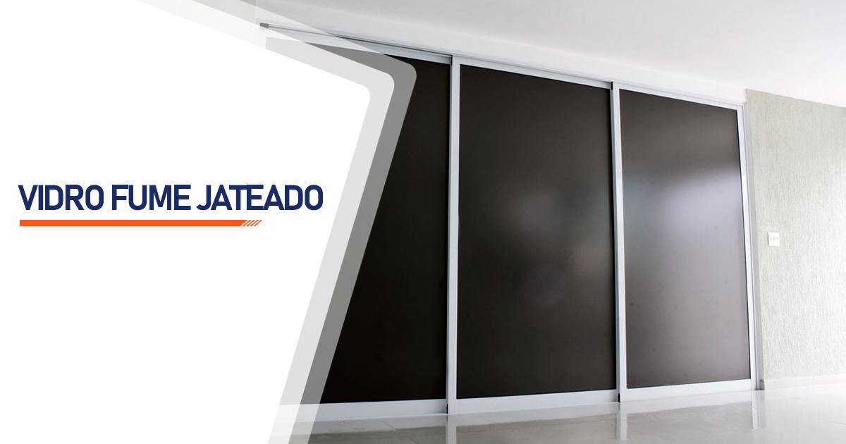 Vidro Fume Jateado São Paulo